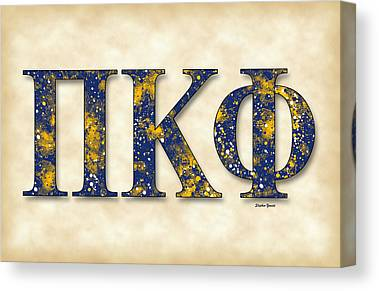 Pi Kappa Phi Canvas Prints