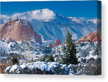 Colorado Landmarks Canvas Prints