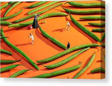 Tennis China Canvas Prints