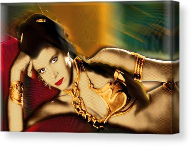 Slave Of The Passions Canvas Prints