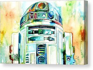 Droid Canvas Prints