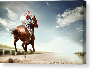 Competing Canvas Prints