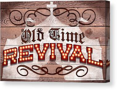 Old Time Religion Canvas Prints