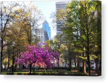 Rittenhouse Square Canvas Prints