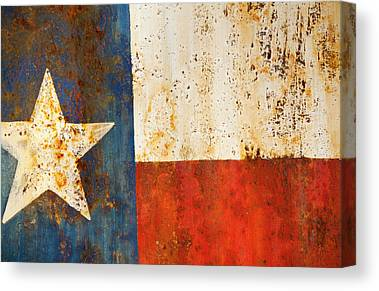 Rusted Metal Canvas Prints