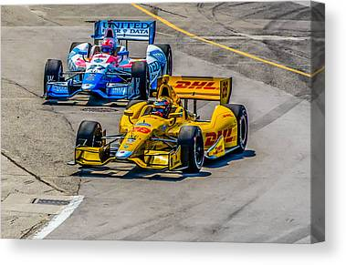 James Hinchcliffe Canvas Prints