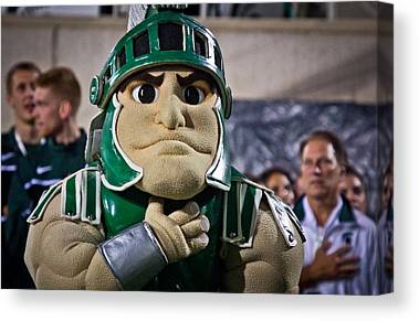 Michigan State Canvas Prints