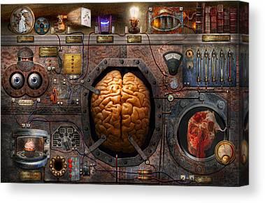 Mental Process Canvas Prints