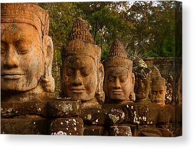 Angkor Thom Canvas Prints
