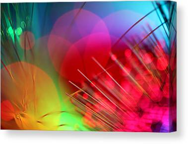 Abstract Digital Photographs Canvas Prints