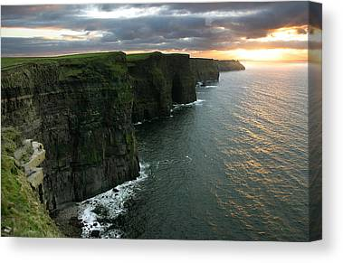 The Cliffs Of Moher Canvas Prints