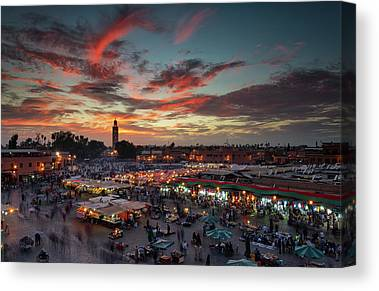 Morocco Canvas Prints