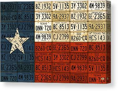 Austin Mixed Media Canvas Prints