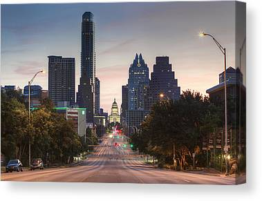 Frost Tower Canvas Prints