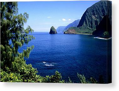 Kalaupapa Cliffs Canvas Prints