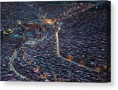 China Town Canvas Prints