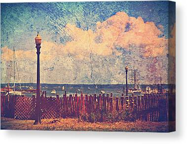 Salt Air Digital Art Canvas Prints