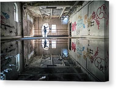 Decay Canvas Prints