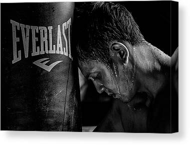 Sweating Canvas Prints