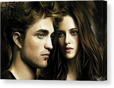 Kristen Stewart Canvas Prints