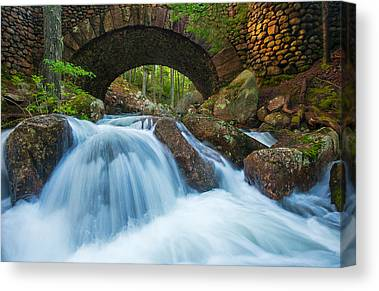 Jordan Stream Canvas Prints