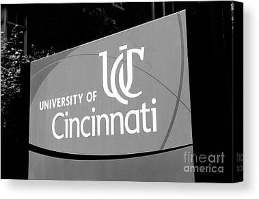 University Of Cincinnati Canvas Prints
