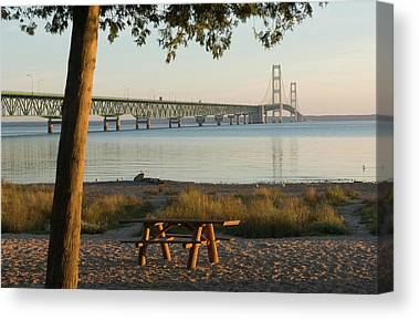 Mackinaw City Canvas Prints