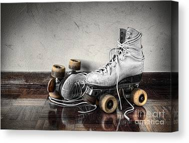 Vintage Shoes Canvas Prints