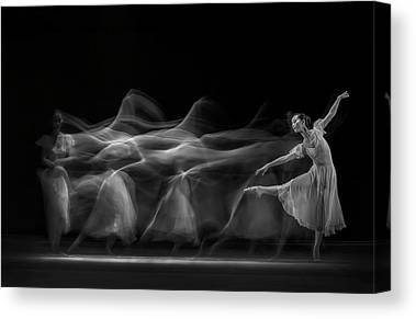 Ballerinas Photographs Canvas Prints