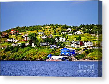 Port Town Canvas Prints