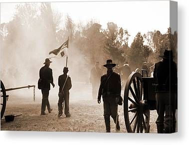 Historical Re-enactments Paintings Canvas Prints