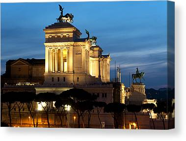 Monument To The Unknown Soldier Canvas Prints