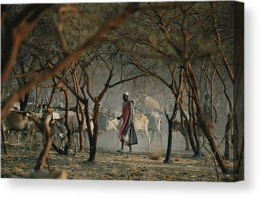 Dinka People Canvas Prints