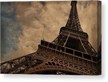 The Eiffel Tower Canvas Prints