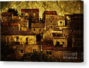Brown House Canvas Prints