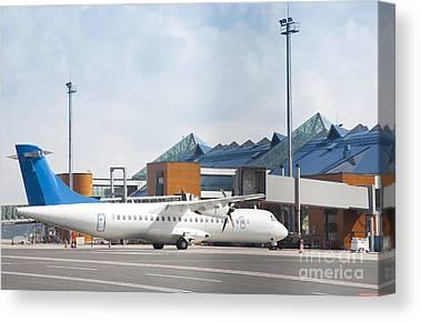 Tallinn Airport Canvas Prints