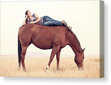 Horse Lover Canvas Prints