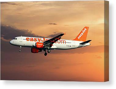 Easyjet Canvas Prints