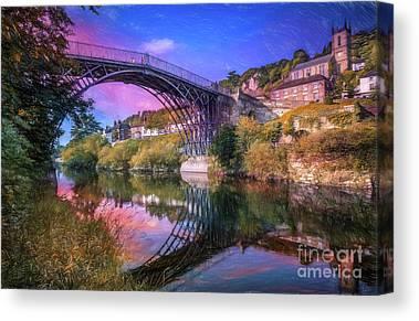 Severn River Canvas Prints