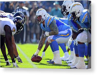 Los Angeles Chargers Canvas Prints