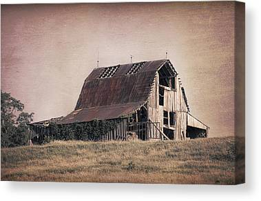 Old Rustic Building Canvas Prints