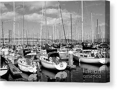 Boat Basins Canvas Prints
