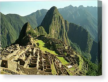 Andes Canvas Prints