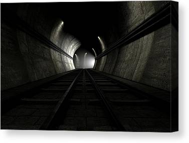 Tunnel Canvas Prints