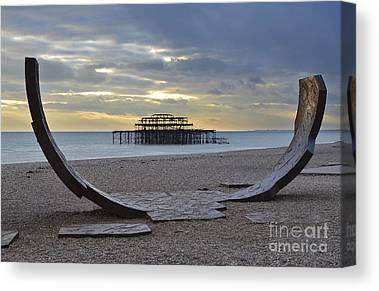 Brighton Pier Canvas Prints