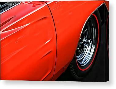 1969 Dodge Charger Stock Car Canvas Prints