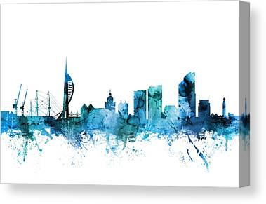 Portsmouth Canvas Prints