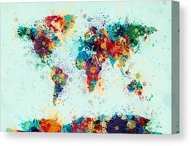 Colourfull Canvas Prints