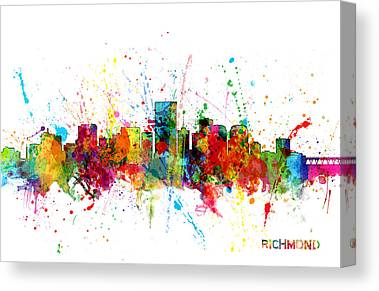 Richmond Virginia Canvas Prints
