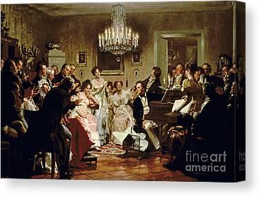 Schubert Canvas Prints